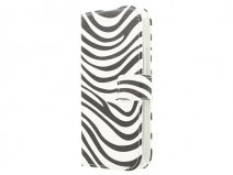 Zebra Book Case Hoesje voor HTC One M9