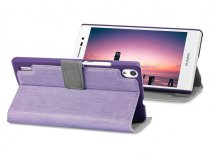 Covert UltraSlim Book Case - Hoesje voor Huawei Ascend P7