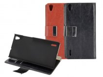 Classic Book Case - Hoesje voor Huawei Ascend P7