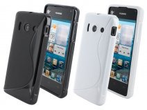 Mobiparts S-Line TPU Case - Huawei Ascend Y300 hoesje