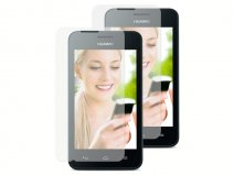 Clear Screenprotector voor Huawei Ascend Y330 (2-pack)