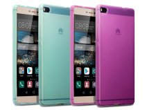 CaseBoutique TPU Soft Case - Hoesje voor Huawei Ascend P8
