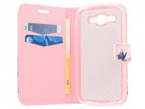 Butterfly Book Case Hoesje voor Huawei Ascend Y540