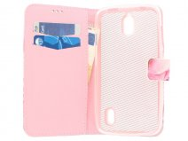 Rose Book Case Hoesje voor Huawei Ascend Y625