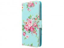 Huawei Ascend Y635 Hoesje - Flower Book Case