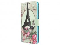 Retro Paris Book Case - Huawei G Play Mini hoesje
