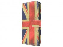 Vintage GB Flag Book Case - Huawei G Play Mini hoesje