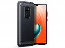 CaseBoutique Carbon TPU Case - Huawei Mate 20 Hoesje