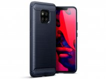 CaseBoutique Carbon TPU Case - Huawei Mate 20 Pro Skin