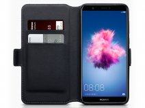 CaseBoutique Slim Wallet Leer - Huawei P Smart hoesje