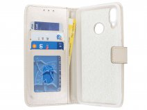 Bookcase Wallet Goud - Huawei P Smart+ hoesje