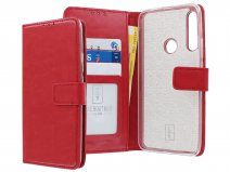 Book Case Wallet Mapje Rood - Huawei P Smart Z hoesje
