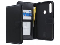 Book Case Wallet Mapje Zwart - Huawei P Smart Z hoesje