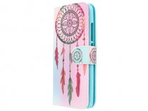 Color Dreamcatcher Bookcase - Huawei Nova hoesje