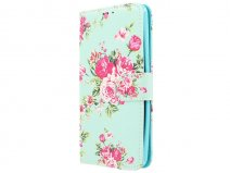 Flower Bookcase - Huawei P8 Lite Smart/GR3 hoesje