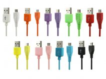 Color Series Micro-USB kabel voor Laden en/of Synchroniseren