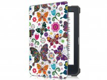 Just in Case Smart Cover Butterflies - Kobo Nia Hoesje
