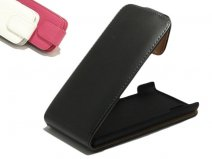 Classic Leather Flip Case voor LG Optimus 4X HD (P880)