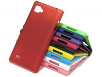 Color Series Hard Case Hoesje voor LG Optimus 4X HD (P880)