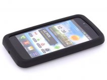 Silicone Skin Case Hoes voor LG Optimus Black