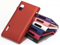 Color Series Hard Case Hoesje voor LG Optimus L5 (E610)