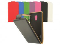 Classic Leather Case voor LG Optimus L7 II (P710)
