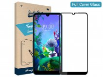 LG Q60 Screen Protector Glas Full Cover Curved Edge Tempered Glass