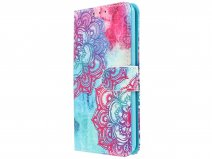 hoesje iphone 8 mandala book case