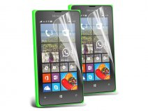 Clear Screenprotector voor Microsoft Lumia 435 (2-pack)
