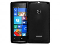 Frosted TPU Soft Case - Hoesje voor Microsoft Lumia 435