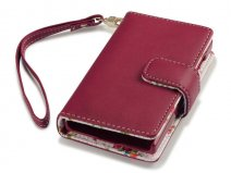 CaseBoutique Flower Wallet Case - Microsoft Lumia 532 hoesje