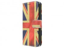 Vintage GB Flag Book Case - Microsoft Lumia 550 hoesje