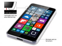 Terrapin Crystal Clear Case - Microsoft Lumia 640 XL Hoesje
