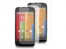 Clear Screenprotector voor Motorola Moto G (2-pack)