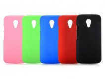 Frosted Hard Case - Motorola New Moto G (2014) hoesje