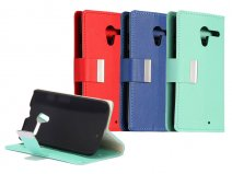 Color Wallet Case - Hoesje voor Motorola Moto X