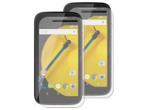 Motorola Moto E 2015 Clear Screenprotector (2-pack)