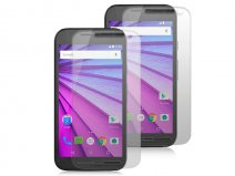 Motorola Moto G3 Screenprotector Folie (2-pack)