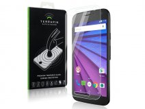Motorola Moto G3 Screenprotector Tempered Glass