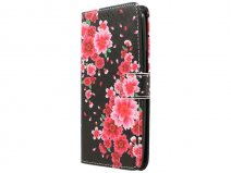 Motorola Moto X Play Hoesje - Lily Flower Book Case