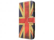 Motorola Moto X Play Hoesje - Vintage GB Flag Case