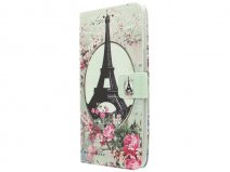 Motorola Moto X Style Hoesje - Retro Paris Book Case