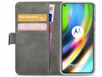 Mobilize Walletbook Zwart - Motorola Moto G9 Plus hoesje