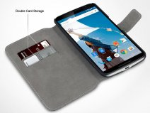 Covert UltraSlim Book Case - Motorola Nexus 6 hoesje