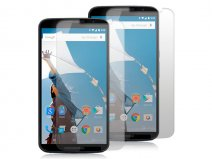 Clear Screenprotector voor Motorola Nexus 6 (2-pack)