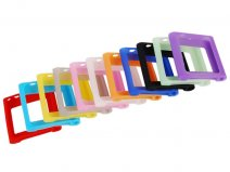 Color Series Silicone Skin Hoes voor iPod Nano 6G
