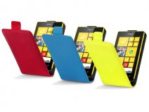 Qubits Glossy Flip Case - Hoesje voor Nokia Lumia 520