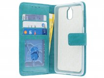 Bookcase Wallet Turquoise - Nokia 3.1 hoesje
