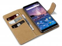 CaseBoutique Classic Wallet - Nokia 7 Plus Hoesje
