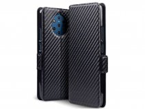CaseBoutique Slim Wallet Case Carbon - Nokia 9 PureView hoesje